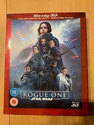 Star Wars Rouge One 3D Blu Ray OVP