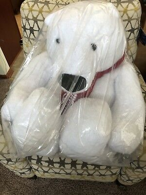 Giant Christmas Coca Cola Polar Bear Plush Stuffed Animal 30 Brand