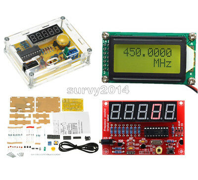 1MHz-1.1GHz 1Hz-50MHz Crystal Oscillator Tester Frequency Counter Meter DIY Kits