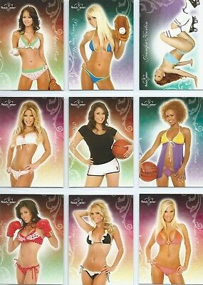 2007 BENCHWARMER - 2 Complete Base Sets (Gold Edition & Series 1) - 144 Cards