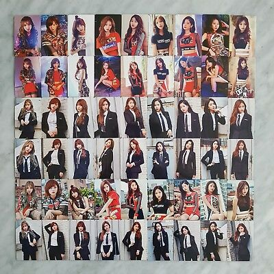 TWICE Fan Meeting ONCE BEGINS Official Photocard - Each Member