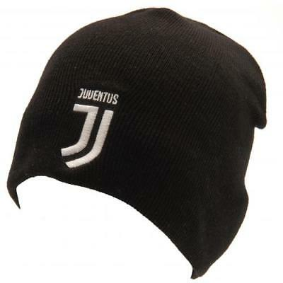 Juventus Knitted Hat Beanie Black Warm Fan Gift New Official Licensed  Product 34608e3a5