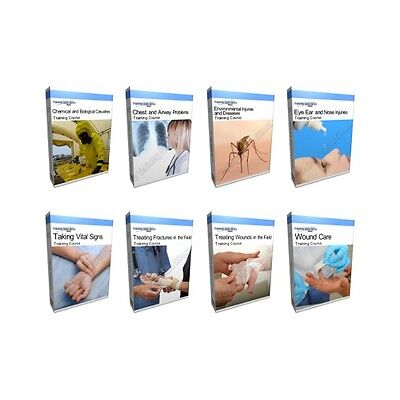 Huge Injuries Emergencies Training Complete Collection