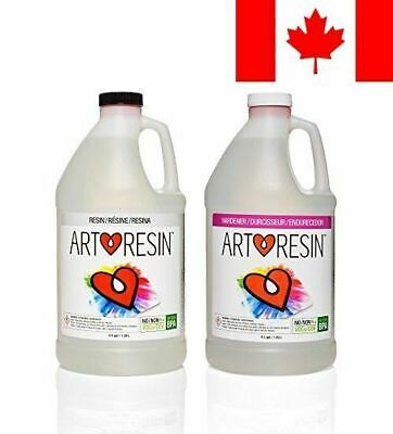 ArtResin - Epoxy Resin - Clear - No Respirator Needed - 1 gal ( 3.78 L )