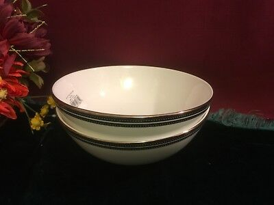 2 Kate Spade Union Street  All Purpose Bowls NEW USA soup/cereal bowls