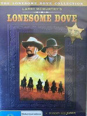 LONESOME DOVE 2 x DVD Set Lonesome Dove Collection AS NEW!