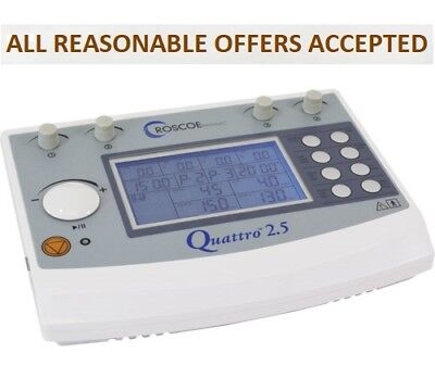 Quattro 2.5 Professional Electrotherapy E-Stem DQ8450 Freeeeeee Fast Shipping
