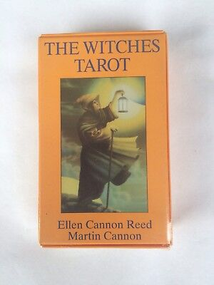 The Witches Tarot 1989 Ellen Cannon Reed 78 Card Deck + Book NIB