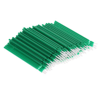 100x Dental Disposable Plastic Tooth Teeth Applicator Brush Sanitary Green