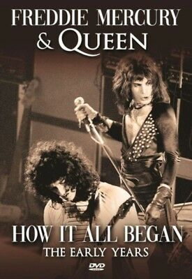 Freddie Mercury & Queen: How It All Began DVD New Sealed R4