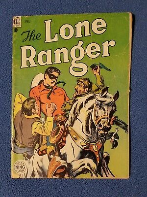 The Lone Ranger #10 (1949, Dell) : Golden Age Western Comics