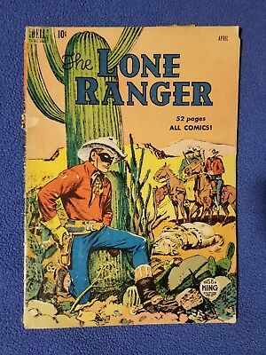 The Lone Ranger #22 (1950s, Dell) : Golden Age Western Comics