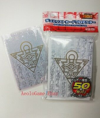 OFFRE SPECIALE /  Yu-Gi-Oh! Sleeve Protège-cartes WHITE, made in japan