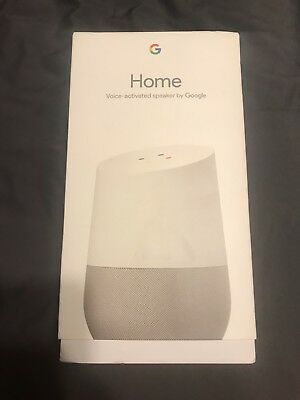 Google GA3A00417A14 Home Smart Assistant and Wireless Speaker - White Slate