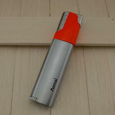 Windproof Welding Jet Torch Gas Refillable Smoking Cigar Cigarette Lighter 292p