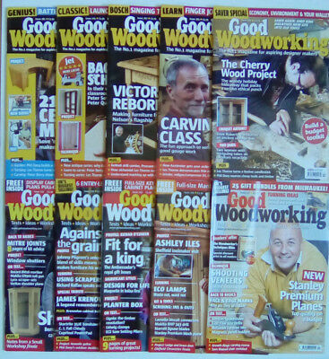 Good Woodworking Magazine X 6 Issues Used 5 00 Picclick Uk