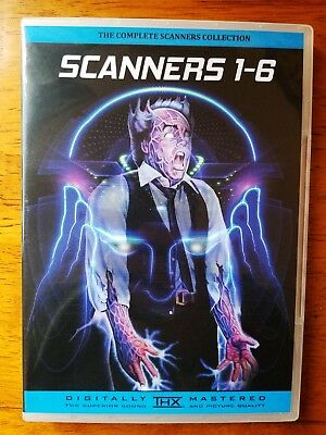 The Complete Scanners Bluray & DVD Collection Films 1-6
