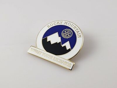 Rocky Mountain Rotary Youth Exchange Lapel Pin