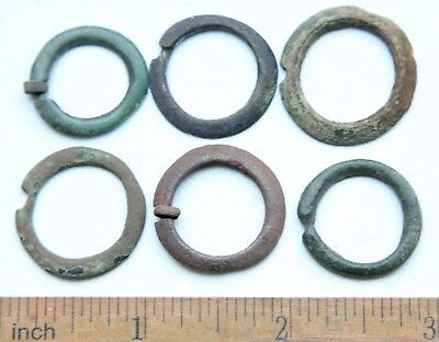 Group Of Ancient Old Bronze Fibula Brooch (NW04)