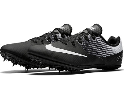 ad2b0e8fb98b73 NEW - NIKE Zoom Rival S 8 Track Sprint Spikes 806554-011 Blk white ...