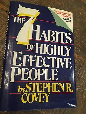 Signed*** The 7 Habits Of Highly Effective People