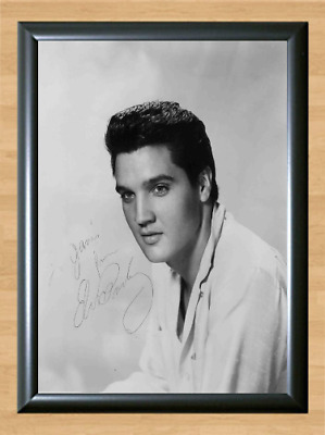 Elvis Presley From In Memphis Signed Autographed A4 Photo Poster Memorabilia cd