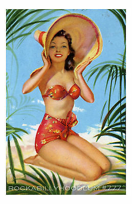 SAILOR JERRY HULA GIRL Photo Picture Poster Print Art A0 A1 A2 A3 A4 1035