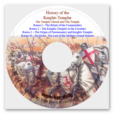 History of the Knights Templer, the Temple Church and the Temple + Bonus Books