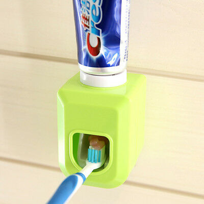 Bathroom Wall Mounted Automatic Toothpaste Squeezer Dispenser Squeezing Device