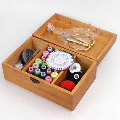 1 Set Kit Sewing Kit Measure Scissor Thimble Thread Needle Storage Box Travel