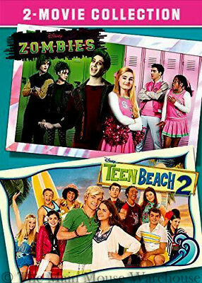 Disney's Zombies & Teen Beach 2 Disney Channel Teenager Movie Double Feature DVD