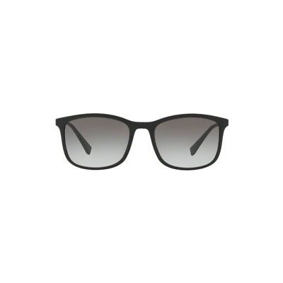 a212e264dd0 Prada Sport Sunglasses PS01TS DG00A7 Black Rubber Grey Gradient משקפי שמש  פראדה