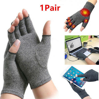 Winter Warm Women Men Unisex Soft Mittens Plush Half Finger Fingerless Gloves