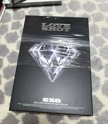 EXO  LOVE SHOT, 5th Repackage album Love Ver. CD + Booklet only No Photo card