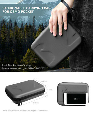 For DJI OSMO Pocket EVA Storage Bag Carrying Case Cover Gimbal Accessories Box R