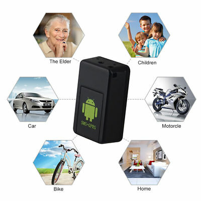 GF08 Mini GPS Real Time Car Locator Tracker Magnetic GSM/GPRS Tracking Device UK