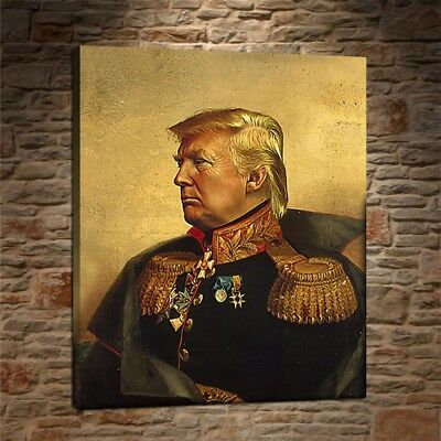 """Donald Trump Painting HD Print on Canvas Home Decor Room Wall Art Pictur 16X20"""""""