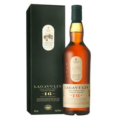 Lagavulin 16 Years Jahre Single Malt Whisky Scotch Alkohol Flasche 43% 700 ml