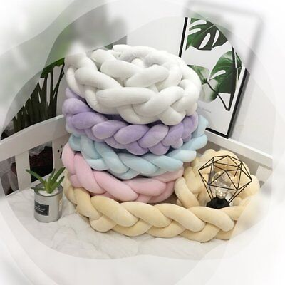 Kids Long Knotted Braid Pillows TC