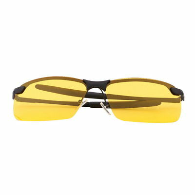 Yellow HD Night Vision Polarized Glasses UV400 Driving Sunglasses Eyewear NM
