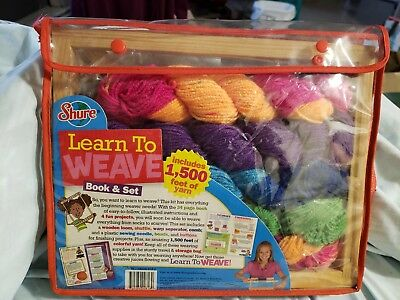 Learn To Weave For Kids Book & Loom Kit