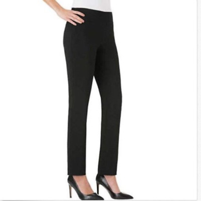 0010d939 WOMENS BOOTCUT STRETCH Dress Pants - Comfy Pull On Style, Red Hanger ...