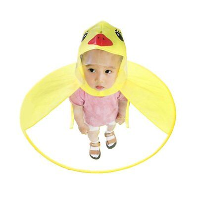 Children's Raincoat UFO Raincoats Hands Free Baby Duck Rain Coat Rain Cover ZW