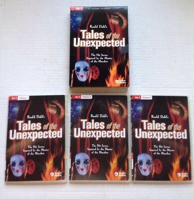 Tales Of The Unexpected Set 3, 3 Dvd British Tv Series Set, 21 Episodes Genuine