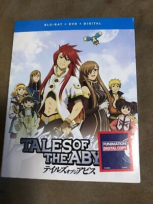 Tales of the Abyss: The Complete Series (Blu-ray/DVD, Digital, 7-Disc, 2018) NEW