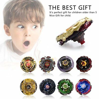 Rare Beyblade Set Fusion Metal Fight Master 4D Top Rapidity With Launcher Grip D
