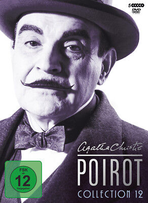 WVG - Agatha Christie's Hercule Poirot Collection. Vol.12, 5 DVDs