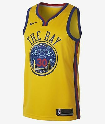 reputable site 82644 73190 NIKE MEN'S 912101-728 NBA Golden State Warriors Stephen Curry Jersey