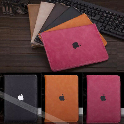 Luxury PU Leather Wallet Smart Case Cover for iPad 2 3 4/Air/Mini/Pro/6th 2018