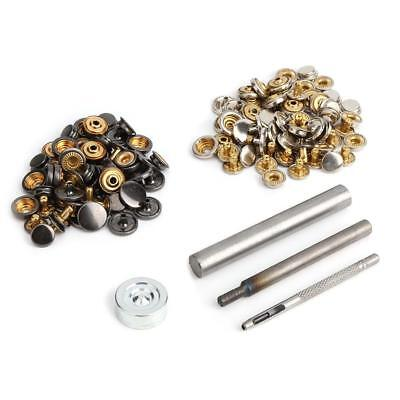 Hearty 15mm Snap Fastener Button Screw Studs Kit For Boat Cover Home Improvement Tent Automobiles & Motorcycles Boat Parts & Accessories